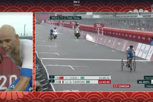 Giochi Paralimpici Tokyo 2020: Giorgio Farroni argento nella cronometro