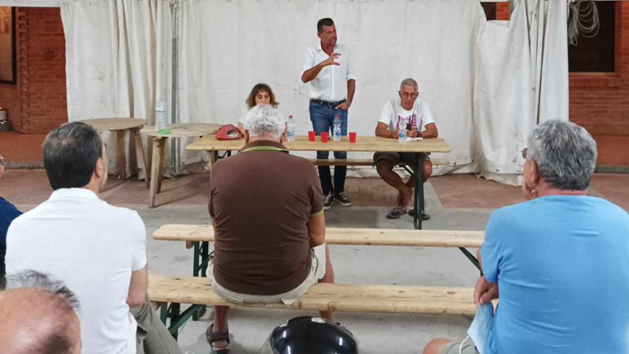 Al Vallone di Senigallia l'incontro dell'11 agosto con i consiglieri comunali PD Angeletti e Piazzai e col consigliere regionale Pd Mangialardi