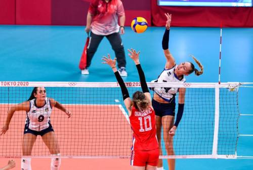 Pallavolo, anche l'Italia femminile eliminata. Serbia ancora fatale