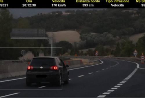 Vallesina, in superstrada come all'autodromo: fioccano le multe a Ferragosto
