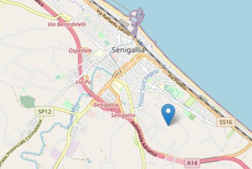 Due lievi scosse di terremoto con epicentro Senigallia