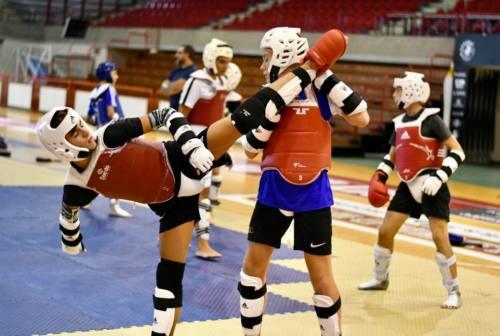 Jesi, i campioni olimpici del taekwondo insegnano tecniche e dedizione ai giovani atleti
