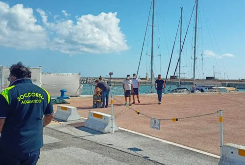 Corpo senza vita di un anziano rinvenuto in mare a Senigallia