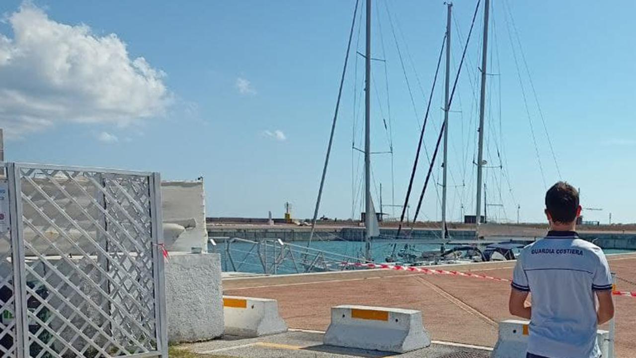 L'area del porto della Rovere di Senigallia dove è stato rinvenuto l'anziano deceduto