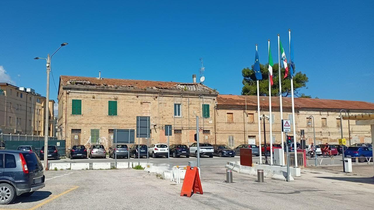 Una delle aree del lotto ex-Italcementi di Senigallia vendute all'asta