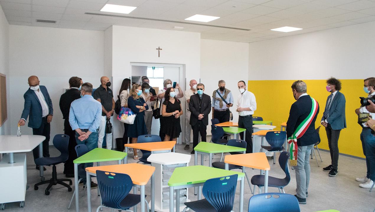 inaugurata la nuova scuola primaria di Cuccurano