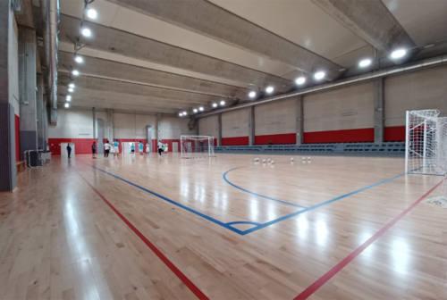 Corinaldo inaugura il nuovo palazzetto dello sport