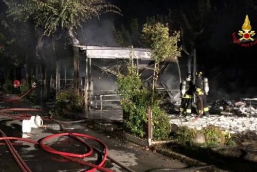 Fano, l'incendio al Camping La Mimosa potrebbe essere stato innescato da un cortocircuito