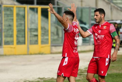 Calcio, l'attaccante Rolfini dopo Ancona Matelica-Lucchese: «Emozioni pazzesche»