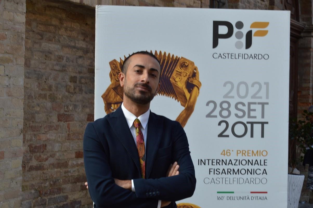 Il direttore artistico del Pif Antonio Spaccarotella