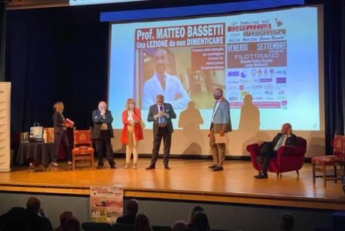 Filottrano, il dottor Matteo Bassetti al Festival del giornalismo d'inchiesta delle Marche