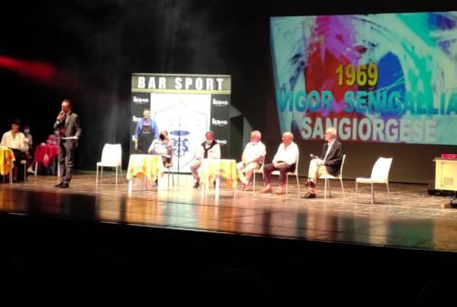 Cento anni di Vigor Senigallia, quante emozioni al teatro La Fenice