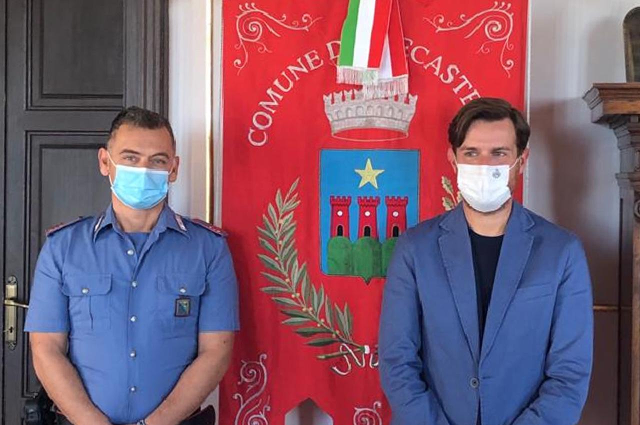 Da sinistra David Galluzzi e Marco Sebastianelli
