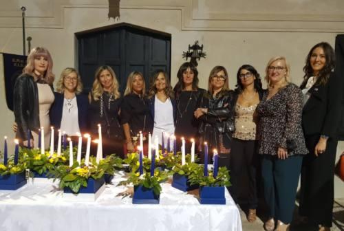 Fidapa Jesi, cinque nuove socie illuminano la cerimonia delle candele