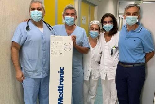 Ospedale di Fabriano: l'attività chirurgica di Cardiologia si conferma all'avanguardia