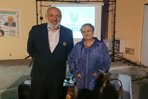 Elezioni a Camerano, la sindaca di Ancona Valeria Mancinelli a sostegno del candidato Oriano Mercante