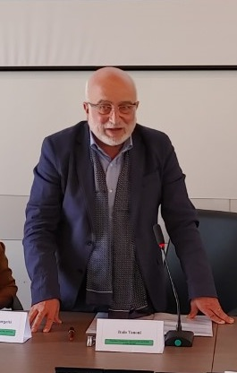 Il presidente Italo Tanoni