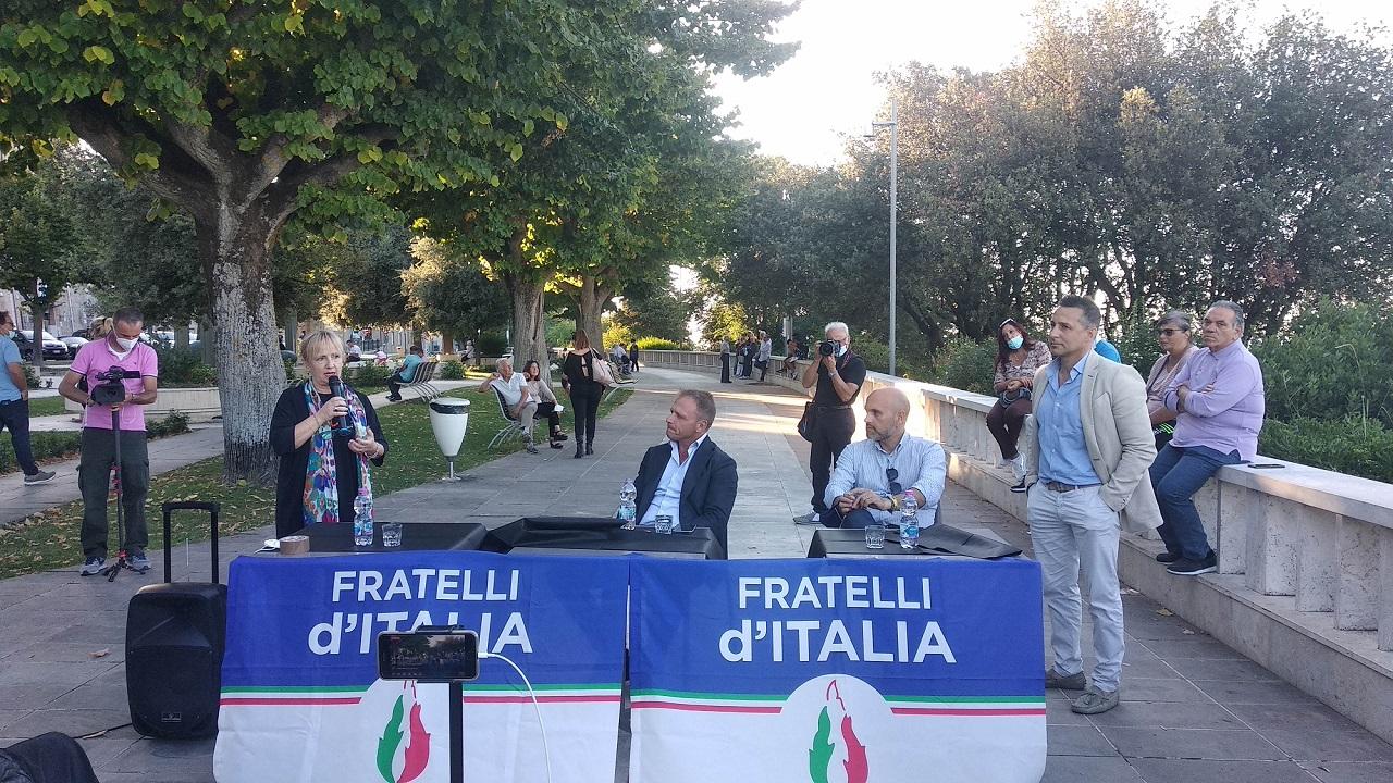 Da sinistra: Gabriella Turchetti, Francesco Lollobrigida, Emanuele Prisco e Stefano Benvenuti Gostoli