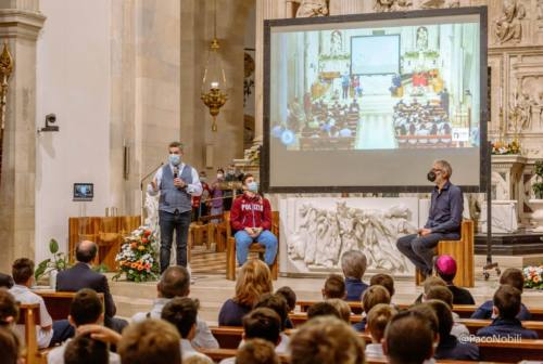 Loreto, i campioni dello sport italiano in Santa Casa per una lezione di vita