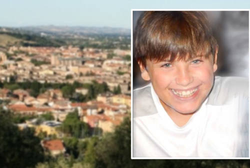 Morto a 12 anni per un incidente. Domani a Tolentino l'addio a Nicola Scisciani