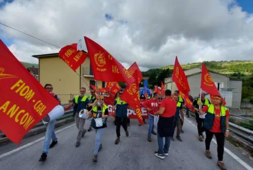 Vertenza Elica: tre ore di sciopero a Mergo e Cerreto D'Esi per dare sostegno alla trattativa
