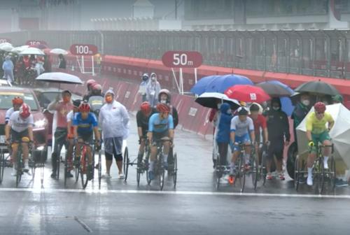 Tokyo 2020, Giochi Paralimpici: Giorgio Farroni settimo nella gara su strada