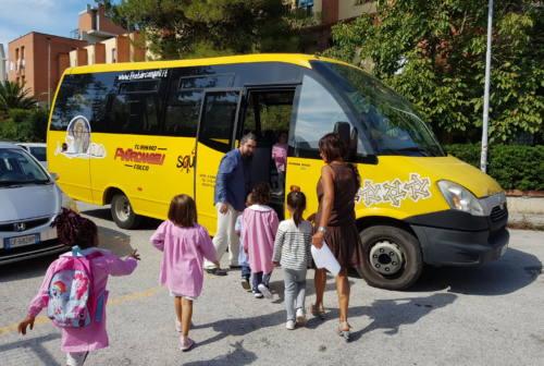 Falconara, il servizio scuolabus ripartirà regolarmente lunedì