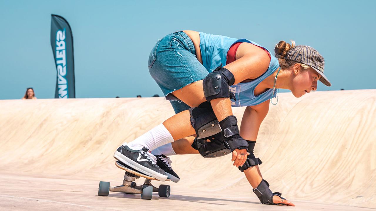 Le esibizioni di skateboard agli XMasters awards di Senigallia 2021