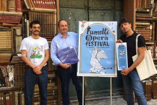 Fumetti opera festival, a Pesaro le graphic novel incontrano la musica