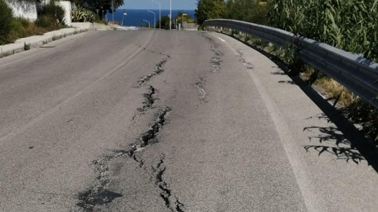 Crepe in via S.Arco a Montemarciano, residenti preoccupati
