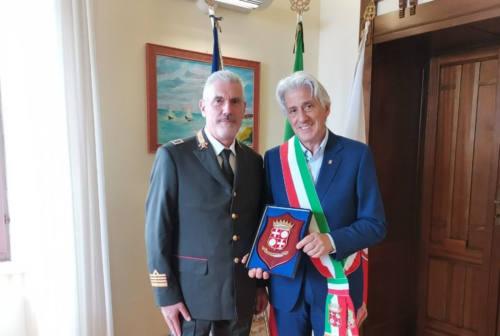 Macerata, il sindaco incontra il nuovo comandante dei vigili del fuoco Caprarelli