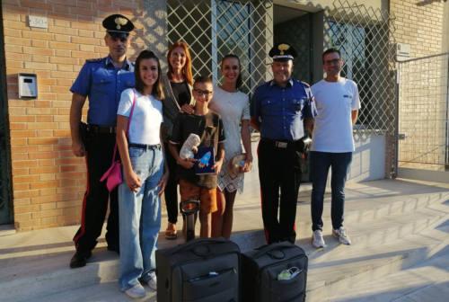 Valigie, peluche e diario recuperati e restituiti ai proprietari. Erano stati rubati a giugno a Porto Potenza Picena