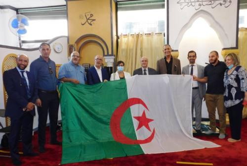 L'ambasciatore dell'Algeria Boutache in visita al Centro Culturale Islamico di Fabriano