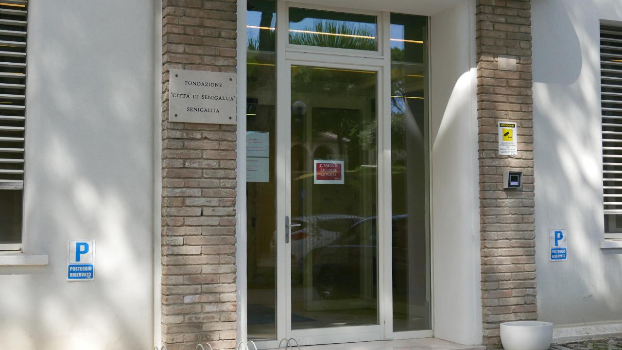 La sede della fondazione Città di Senigallia