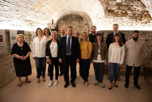 Elezioni a Cupramontana, il candidato sindaco Enrico Giampieri presenta la sua squadra