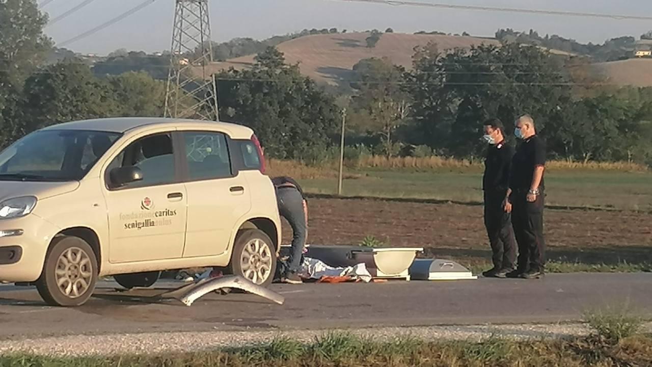 L'incidente mortale avvenuto a Senigallia