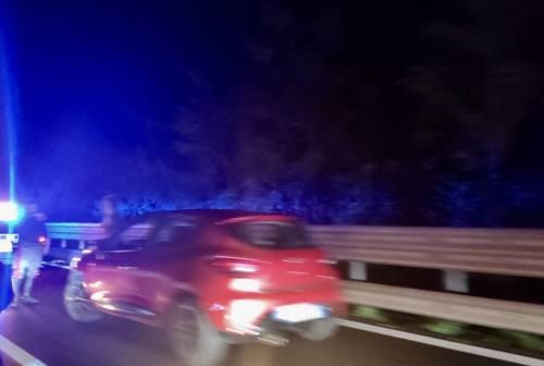Scontro fra tre auto allo svincolo Jesi est: superstrada bloccata per un'ora e mezzo