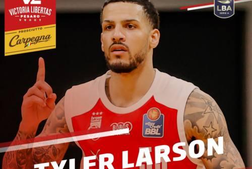 La Vuelle ha un nuovo play. Ufficiale Tyler Larson