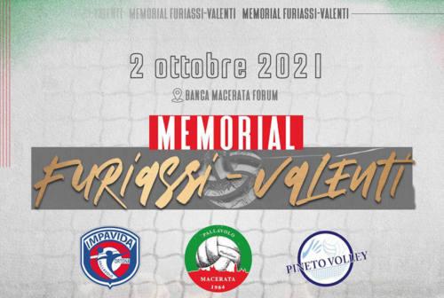 Pallavolo, a Macerata si gioca il memorial Furiassi-Valenti