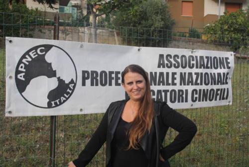 La marchigiana Nadia Sampaolesi alla guida dell'Associazione nazionale educatori cinofili