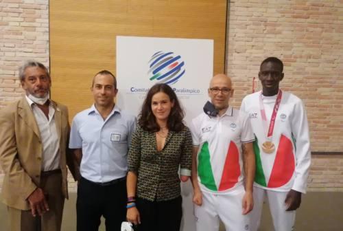Ancona, premiati atleti e tecnici che hanno partecipato alle Paralimpiadi di Tokyo