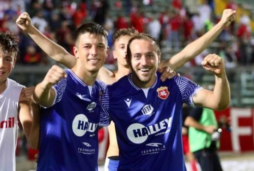 L'attaccante dell'Ancona Matelica Rolfini: «Il gol lo dedico alla mia ragazza»