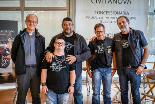 Route21: il giro d'Italia in moto con i ragazzi Down fa tappa nelle Marche