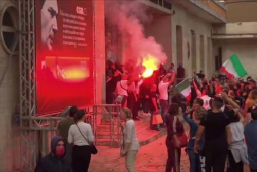 Il sindaco di Fano Seri condanna l'assalto alla Cgil: «Qualcosa di raccapricciante»