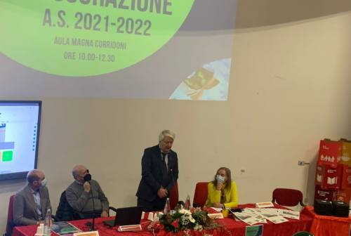 Osimo, l'istituto Corridoni Campana celebra l'inizio dell'anno scolastico
