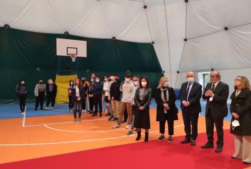 Pesaro, inaugurata la palestra del Santa Marta dopo la ristrutturazione