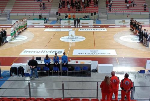 Basket: la Luciana Mosconi batte anche Cesena