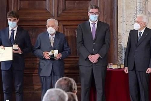 Alfiere del lavoro: il presidente Mattarella premia il maceratese Diego Ciccarelli. «Una grande emozione»