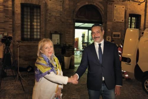 Ballottaggio a Castelfidardo, l'appoggio di Tiranti ad Ascani