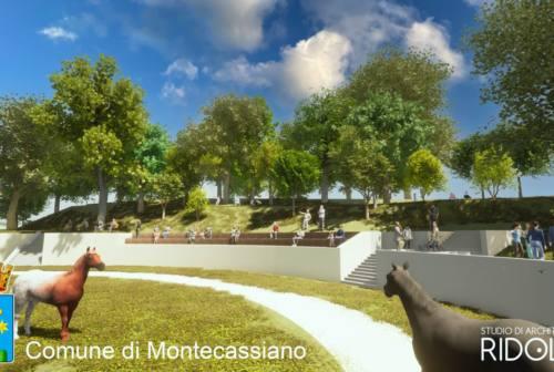 Montecassiano, al via i lavori all'ex campo sportivo Ferri
